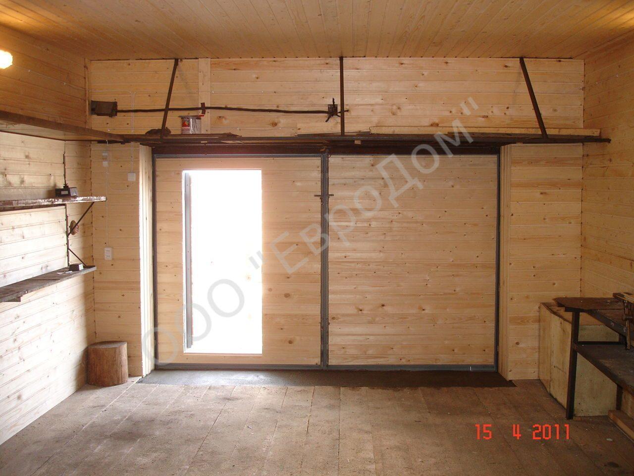 Как оборудуется баня в гараже своими руками sdelai garazh 72